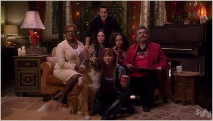 Warehouse 13, the greatest gift, everyone