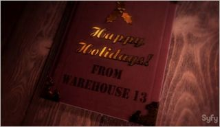 Warehouse 13, the greatest gift, happy holidays from warehouse 13