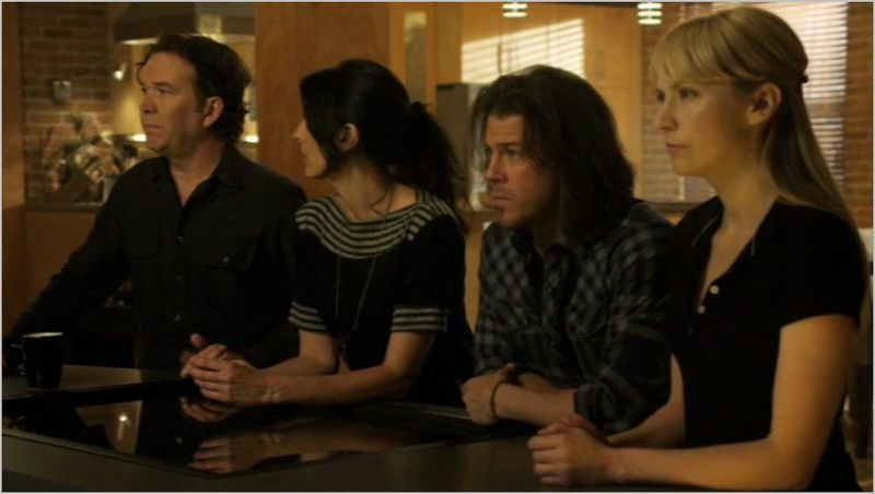 Leverage, the lonely hearts job, nate, sophie, eliot, parker