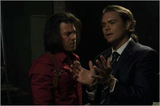 Leverage, the last dam job,  eliot and quinn