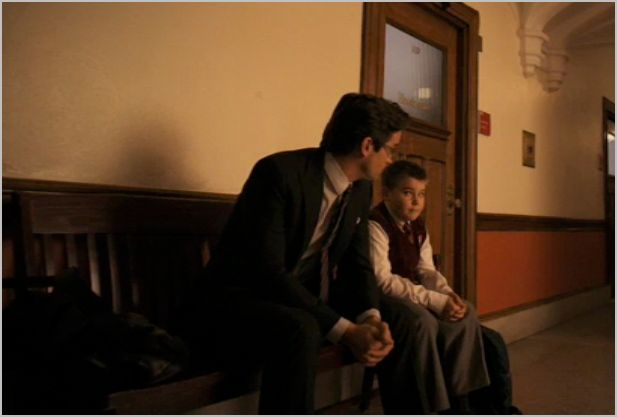 White collar, upper west story, neal and kid