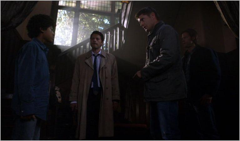 Supernatural, the third man, cas, sam and dean
