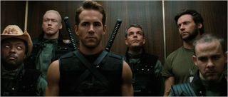 X-men origins wolverine, team