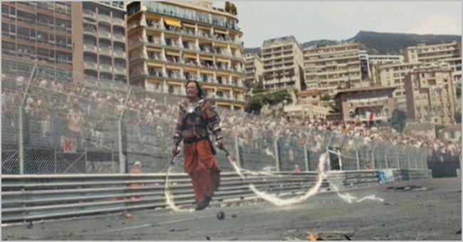 Iron Man 2, whiplash