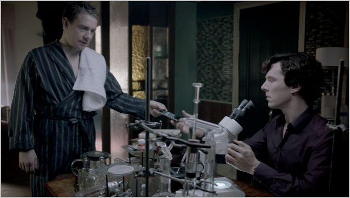 Sherlock, the reichenbach fall, sherlock and watson