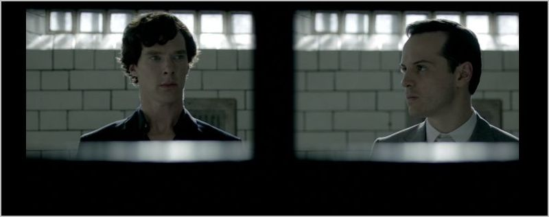 Sherlock, the reichenbach fall, sherlock and moriarty