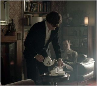 Sherlock, the reichenbach fall, sherlock and moriarty 2