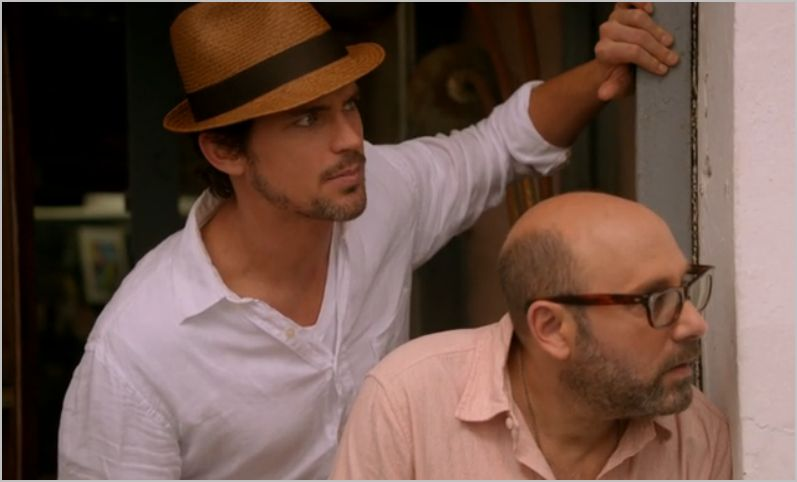 White collar, wanted, neal and mozzie