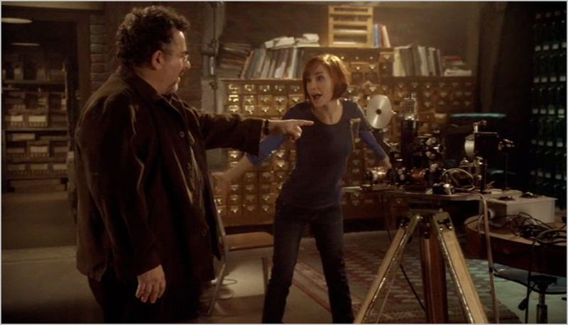 Warehouse 13, burnout, artie and claudia