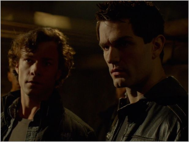 Being human, syfy, i've got you under your skin, aidan and henry