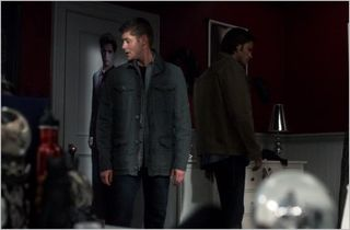 Supernatural, live free or twihard, sam and dean