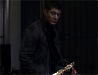 Supernatural, live free or twihard, dean 2