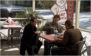 Supernatural, all dogs go to heaven, crowley, dean and sam