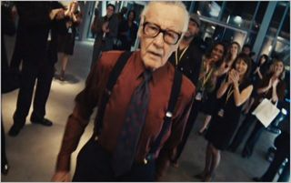 Iron Man 2, stan lee larry king