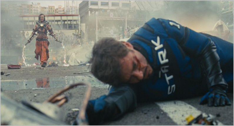 Iron Man 2, tony and whiplash
