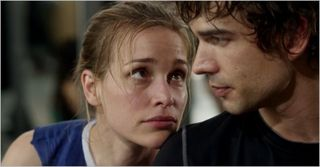 Covert affairs, hand on to yourself, annie and auggie