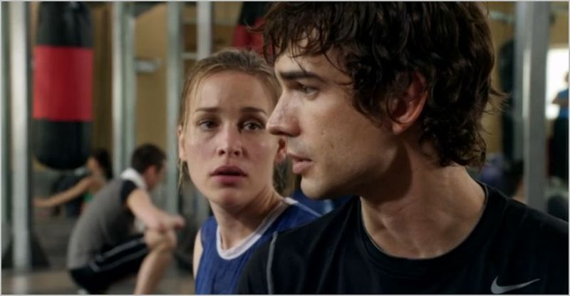 Covert affairs, hand on to yourself, auggie and annie