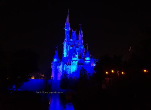 Castle in bluebis