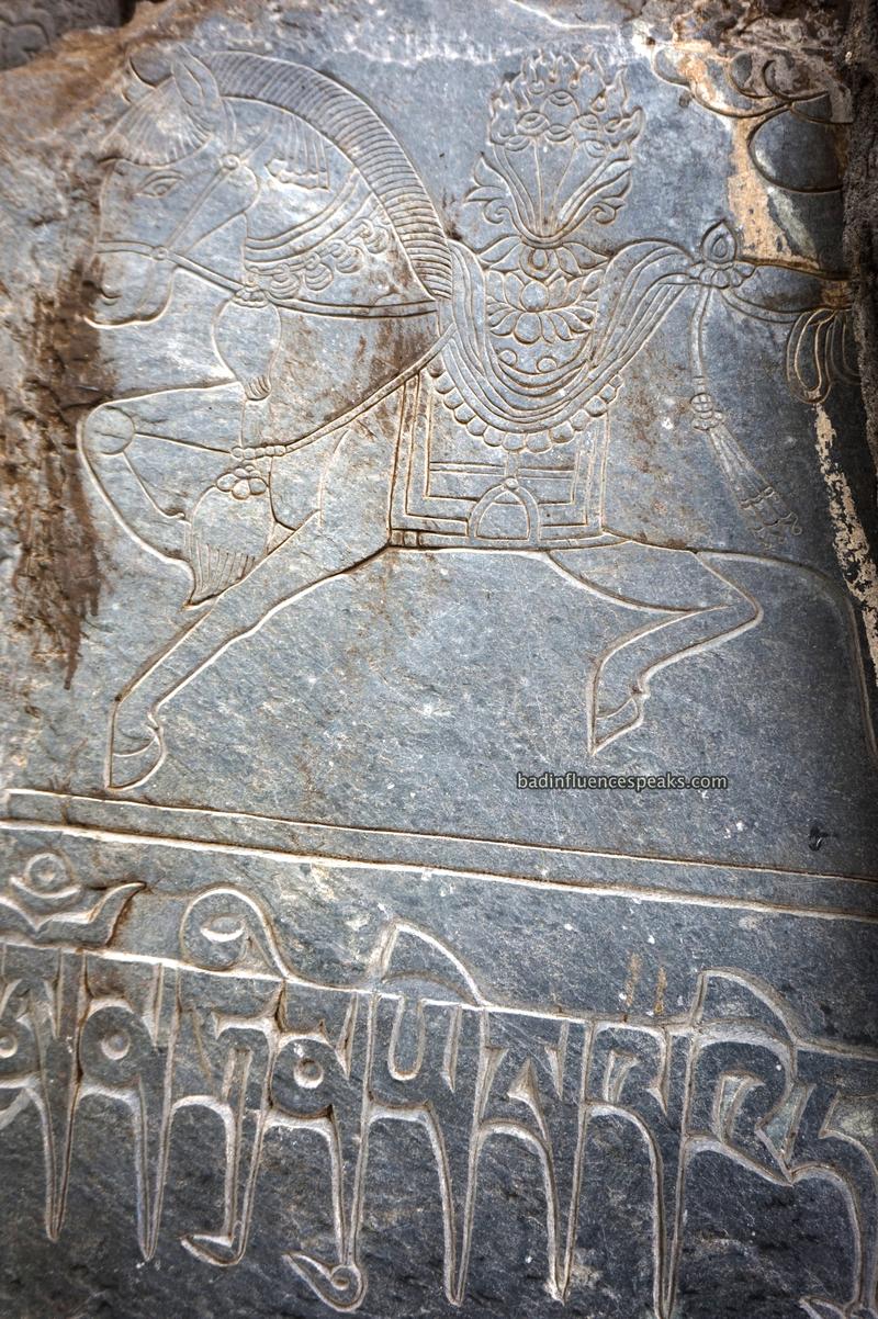 Ak horse carving bis