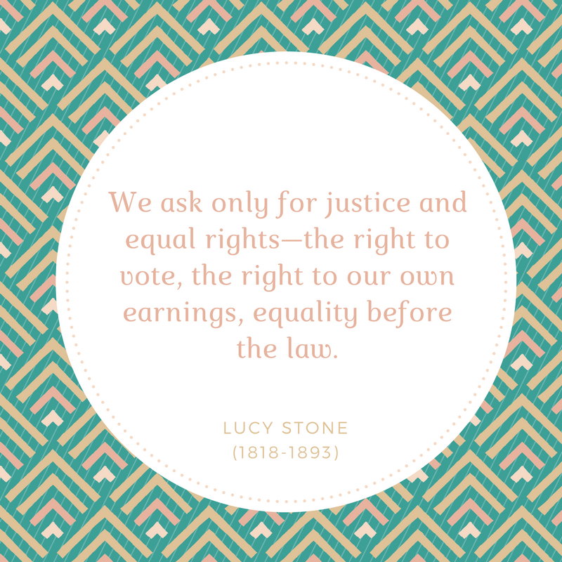 Stone_We only ask for justice and equal rights