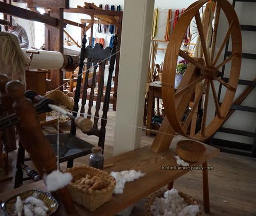 Cw spinning wheel