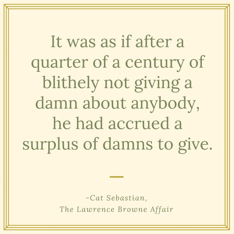 Sebastian  surplus of damns to give.